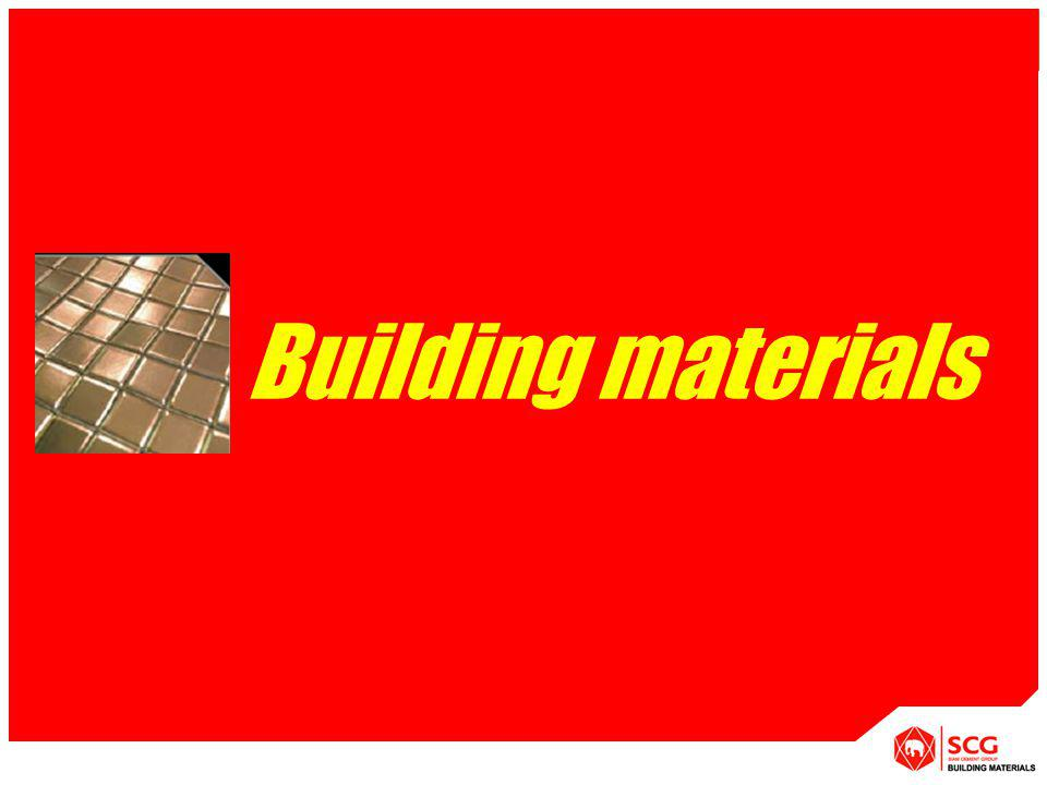 APPLICATION [System] Building materials